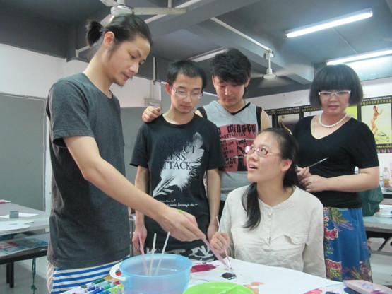 广州市时尚艺术职业培训学校课余时间名师点评环境
