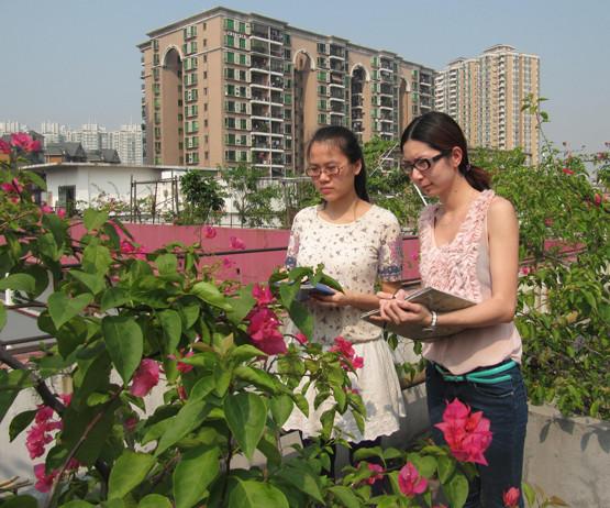 广州市时尚艺术职业培训学校服装设计户外写生环境