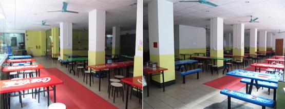 广州市时尚艺术职业培训学校饭堂环境