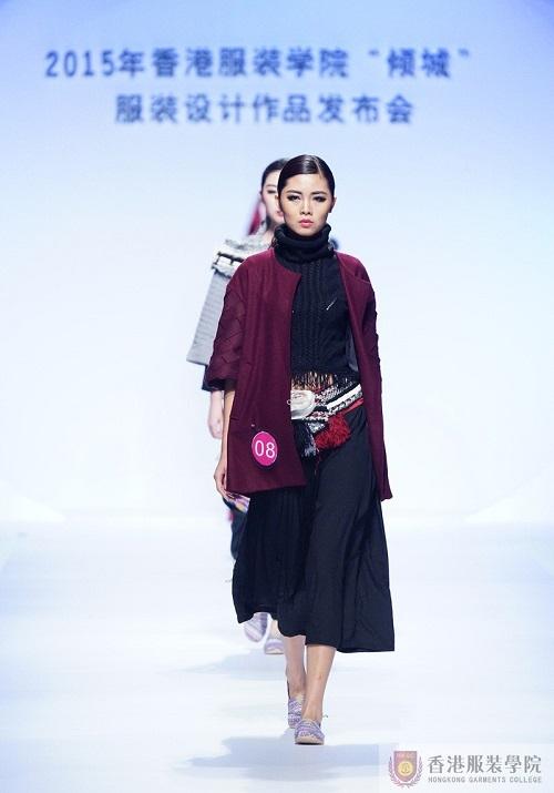 香港服装学倾城服装作品美图秀