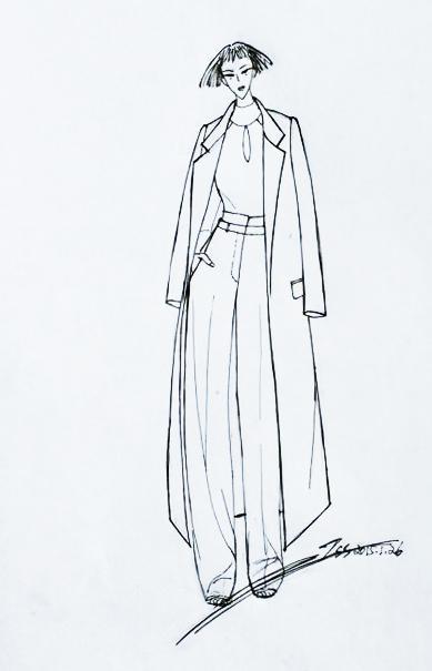 服装设计传统元素与时尚流行趋势的融合之道(二)
